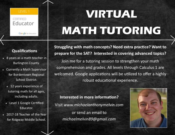 Math Tutoring Flyer
